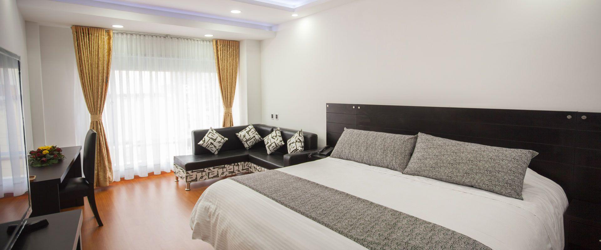 habitación suite hotel palermo suite