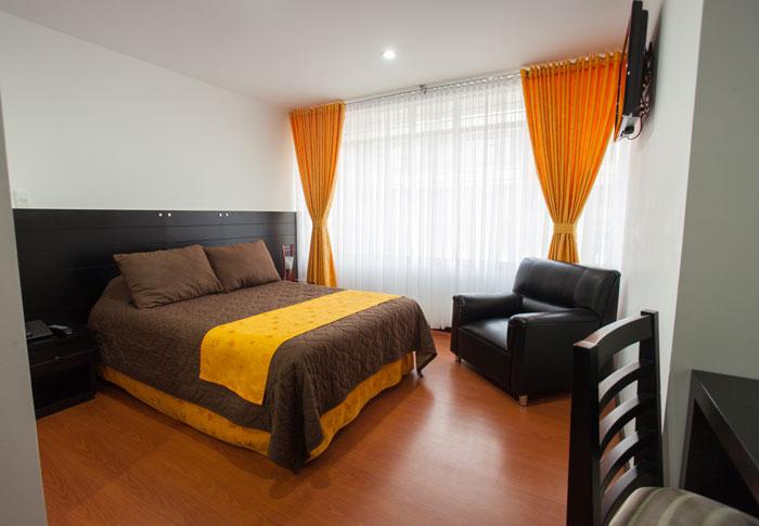 Habitación Ejecutiva en Hotel Palermo Suite