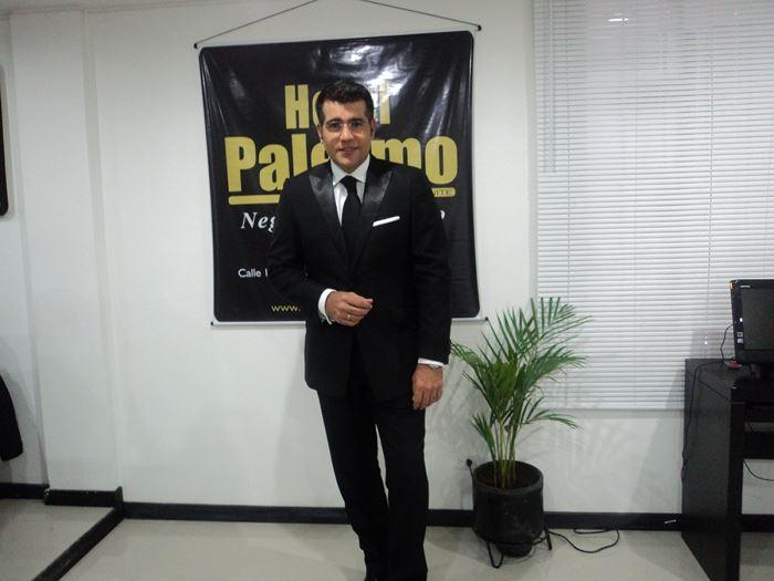 Carlos Calero en Pasto - Hotel Palermo