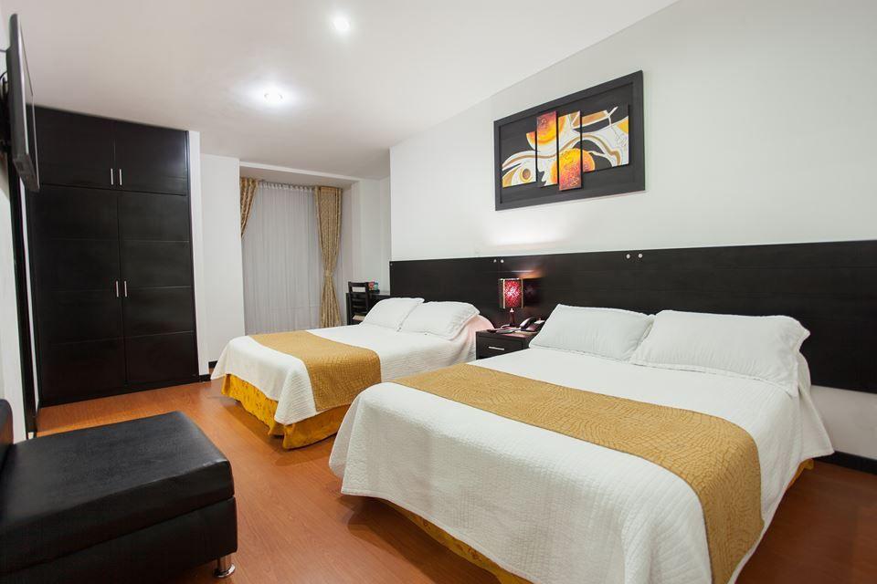 habitación superior con dos camas